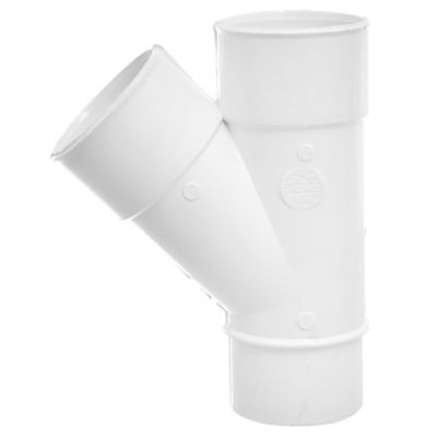 Accesorio 3,2 mm Ramal simple 45° macho/hembra 50 mm diámetro