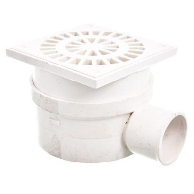 Accesorio 3,2 mm receptáculo de ducha salida horizontal