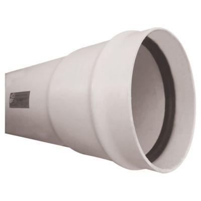 Tubo saneamiento serie 25 de 160 mm x 6 m