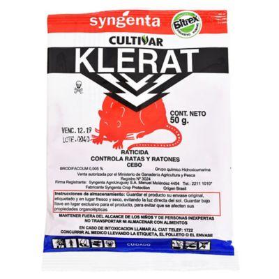 Raticida Klerat 50 g