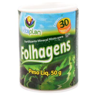 Fertilizante para follaje en pastillas