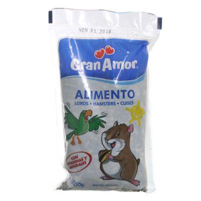 Alimento para loros y hámster 250 g