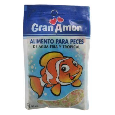 Alimento para peces 12 g