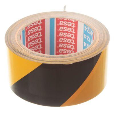 Cinta demarcación 50 x 66 m Amarillo y negro