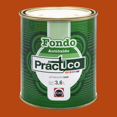 Fondo Anti oxido Rojo 3.6 l
