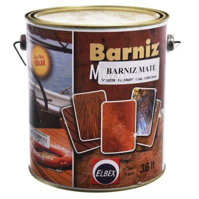 Barniz Marino super brillo con filtro solar mate 3,6 L