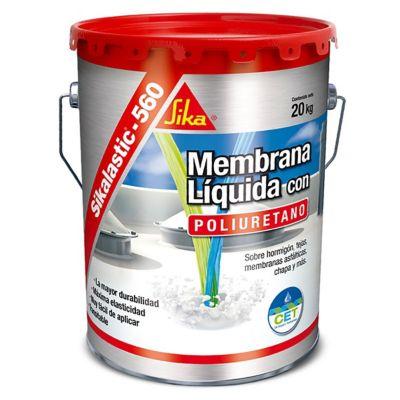 Membrana líquida con poliuretano Sikalastic-560 blanco 20 kg