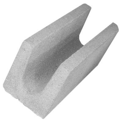 Bloque de hormigón U 19 cm