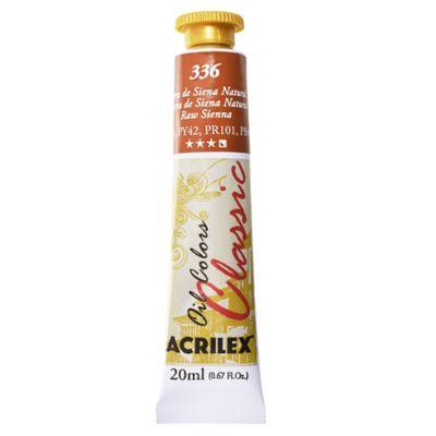 Óleo acrilex 20 ml Tierra