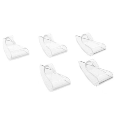 Set Ganchos Adhesivos Transparentes Deco Hook