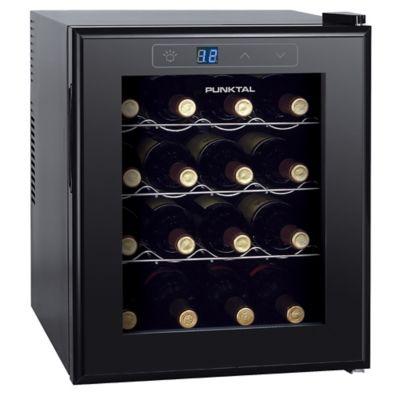 Enfriador de vinos 16 botellas negro