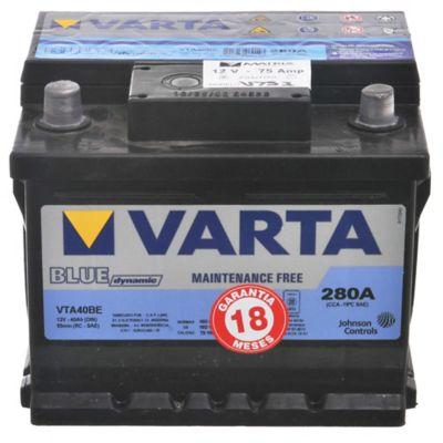 Batería 12 V 75 Amp derecha