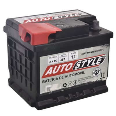 Batería para auto 12 V 75 amp izquierda