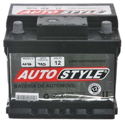 Batería para auto 12 V 75 amp derecha
