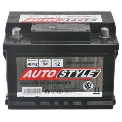 Batería para auto 12 V 90 amp izquierda