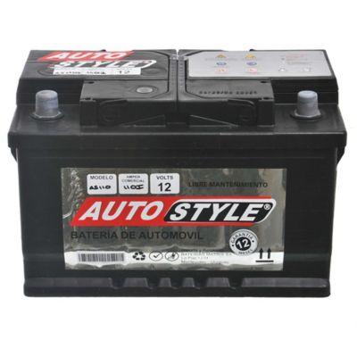 Batería para auto 12 V 110 amp izquierda