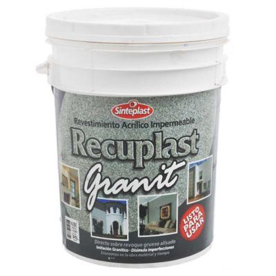 Revestimiento Recuplast Granit nube 30 kg