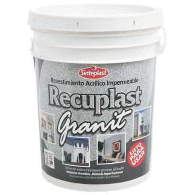 Revestimiento Recuplast Granit humo 30 kg
