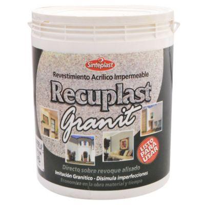 Revestimiento Recuplast Granit perla 6 kg