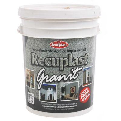 Revestimiento Recuplast Granit perla 30 kg