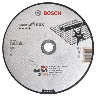 Disco de corte para acero inoxidable 230 mm