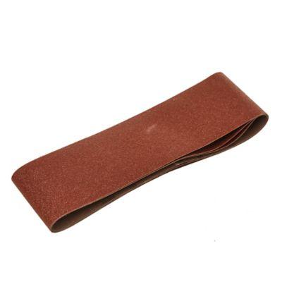 Pack de 3 bandas de lija para madera y metal 75 x 533 mm grano grueso