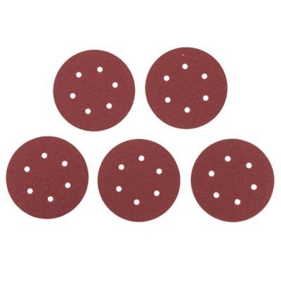 Pack de 5 lijas para madera 150 mm grano grueso