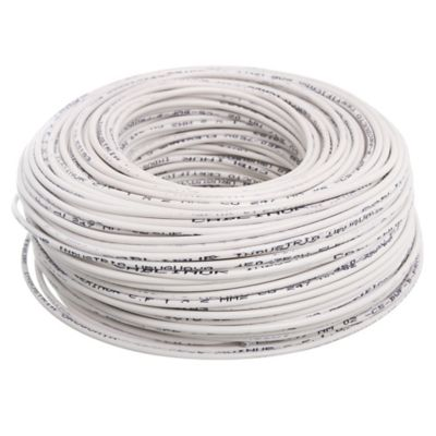 Cable unipolar 2 mm x 100 m blanco