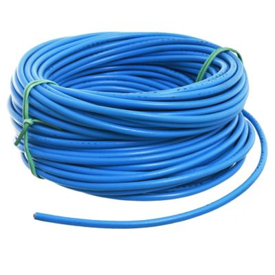 Cable unipolar  6 mm2 Celeste x 30 m