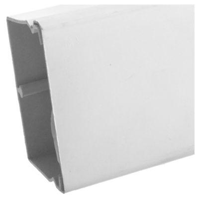 Canaleta 60 x 40 mm blanca