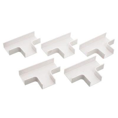 Derivación en T 20 x 10 mm blanco