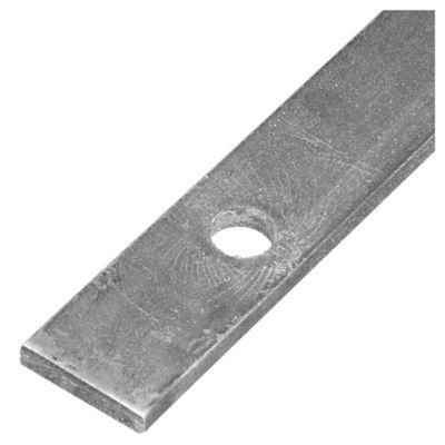 "Planchuela perforada 3/16"" x 1 1/4 "" redonda de 12 mm"
