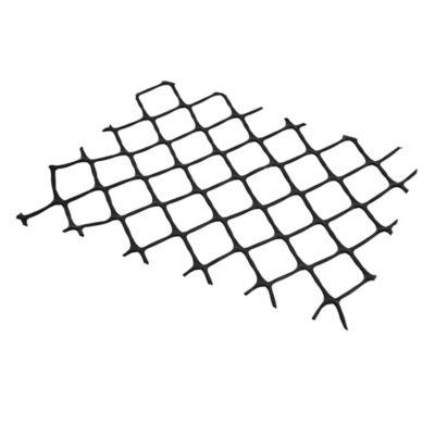 Enrejado de plástico negro N5 1 m