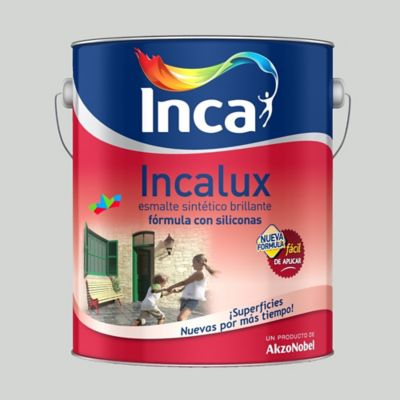 Esmalte Sintético Incalux Aluminio 250 ml