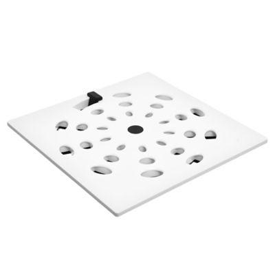 Rejilla Rotativa Blanca 15 x 15 cm
