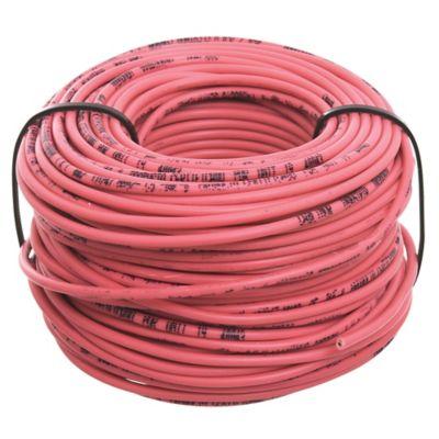 Cable unipolar 1 mm x 30 m rojo