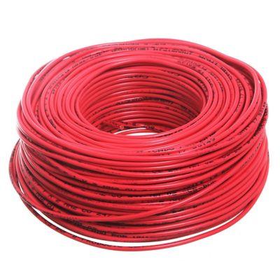 Cable unipolar 2 mm x 100 m rojo