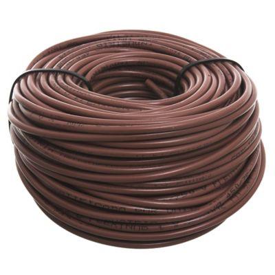 Cable unipolar 2 mm x 30 m marrón