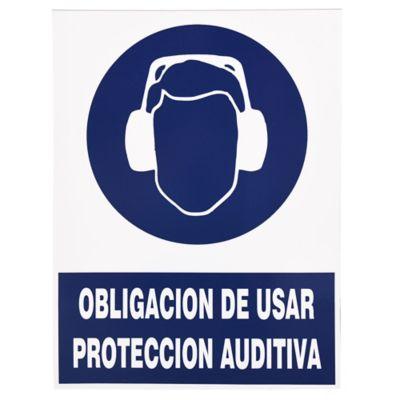 Cartel obligatorio Auditiva 40 x 30 cm