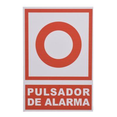 Cartel alarma de incendio 30 x 25 cm