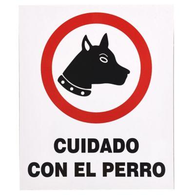 Cartel Perro 30 x 25 cm