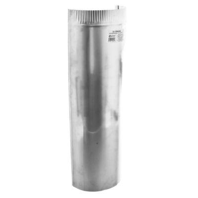 Ducto rígido de aluminio 10,1 x 61 cm