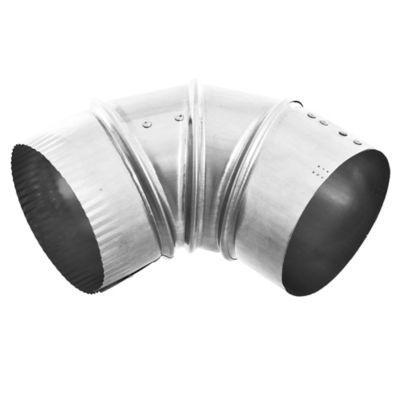 Codo de aluminio para campana