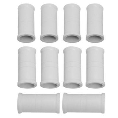 Unión 32 mm tubo-tubo 10 unidades