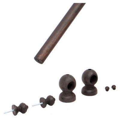 Set barrote 22 mm x 180 cm Nogal