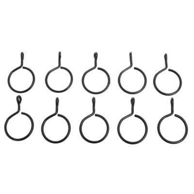 Argollas 5/8 Negro x 10 unidades