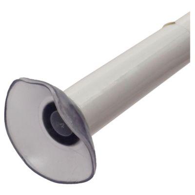 Barral de baño blanco 80 a 130 cm