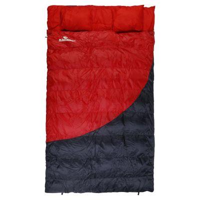 Sobre de dormir Extra size rojo y negro 230 x 135 cm