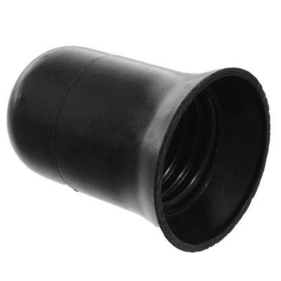 Portalámpara E27 Negro