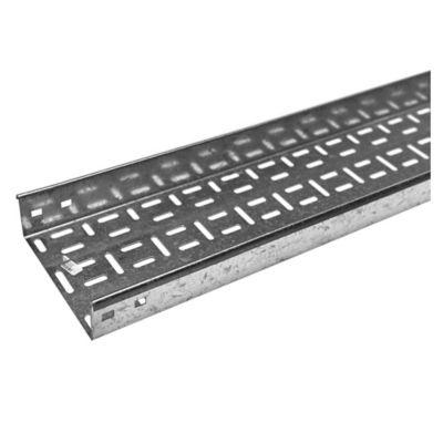 Ducto calado de zinc 150 mm x 50 mm x 3 m